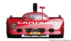 alfa romeo tipo 33 tt12 group 5 1973 racing cars