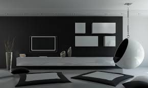 brilliant modern living room black and white on inspiration decorating