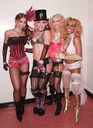 Lil Kim Halloween Costumes Lady Marmalade Mya Pink Christina Aguilara Lil U0027 Kim