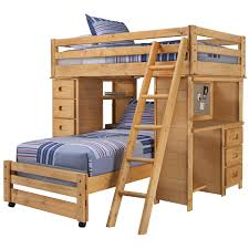 city furniture cinnamon mid tone bunk ladder