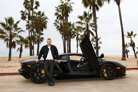 lamborghini aventador los angeles aaron paul just became even more badass cars