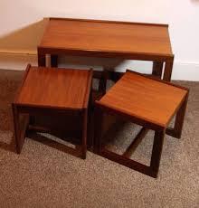 step ladder side table mid century modern heywood wakefield side