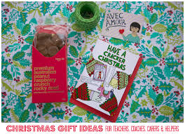 christmas gift ideas for teachers coaches friends u0026 helpers