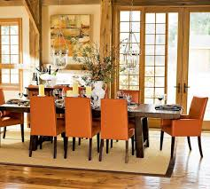 Country Dining Room Decor by Orange Dining Room Decorating Best 25 Orange Dining Room Ideas On