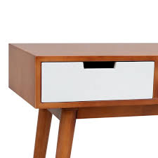 Mid Century Console Table George Oliver Brookline Mid Century Console Table Reviews Wayfair