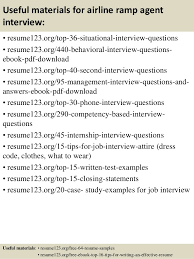 Resume For Airline Job Top 8 Airline Ramp Agent Resume Samples