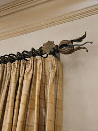 decorative curtain rod design ideas u0026 decors wrought iron rods