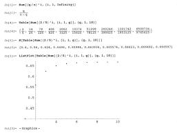 geoffrey generalizes the infinite series