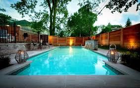 Backyards With Pools Intimate Backyard Pool Oasis