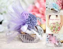 purple wedding favors 2017 new novelty wedding favor boxes acrylic silver swan wedding