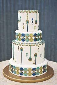 Art Deco Wedding Wedding Cakes Art Deco Wedding Cake 2066772 Weddbook