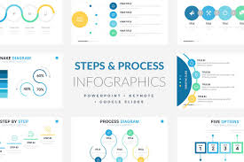 keynote themes compatible with powerpoint 74 steps and process infographic templates powerpoint keynote
