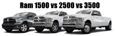 difference between dodge and ram ram 1500 vs 2500 vs 3500 hodge dodge reviews specials and deals