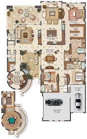 Florida Homes Floor Plans Million Dollar Houses Plans House Plan