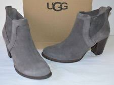 s grey ankle ugg boots ugg australia high 3 in and up booties for ebay
