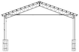 Barn Truss Steel Truss Barn Kit Overbuilt Barns