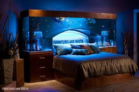 Bedroom Furniture Land Cool Custom Fish Tank Headboard For Your Bed Twistedsifter