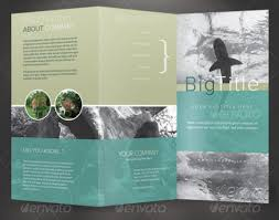brochure 3 fold template psd 3 fold brochure template free fieldstation co