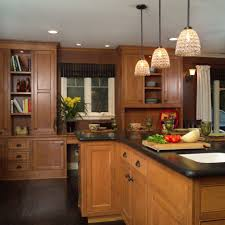 kitchen design fabulous dark oak kitchen cabinets dark tile