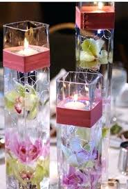 floating candle centerpiece ideas submerged flowers with floating candles floating candle