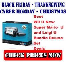 best black friday deals on wii u wii u u2013 top black friday cyber monday and christmas deals 2014