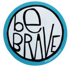 preppy jeep stickers be brave sticker block prints originals and printing