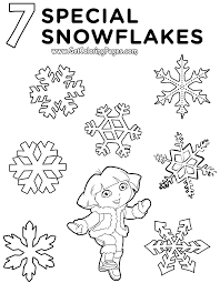 nick jr christmas coloring pages getcoloringpages com