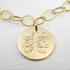 Gold Monogram Bracelet Gold Monogram Bracelet Gold Charm Bracelet 14k Gold Filled