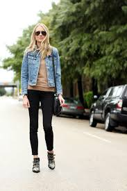biker boot style the perfect denim jacket fashion jackson