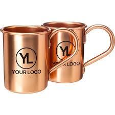 chagne gift set promotional 14 oz moscow mule mug gift sets with custom logo for