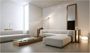modern living room design in simple and minimalist theme