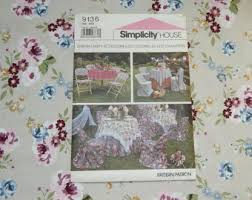Paper Chair Covers Simplicity 9136 Etsy