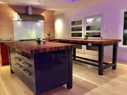 kitchen with butcher block island kitchen islands clear walnut large island butcher block kitchen