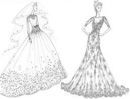 7 designer bridal gown sketches for kate middleton wedding
