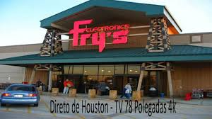 frys black friday direto de houston frys tv 78 polegadas 4k youtube