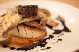 cuisiner un sandre recette chef sandre rôti au foie gras de canard gilles epié