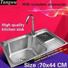 Ceramic Kitchen Sink Sale by Online Get Cheap Big Sinks For Kitchens Aliexpress Com Alibaba