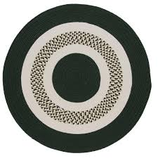 Indoor Outdoor Round Rugs by Round Flat Woven Outdoor Rugs Rugs The Home Depot