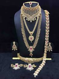 bridal sets for rent bridal jewelry sets muhurtham jewels