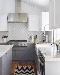 watch out subway tile herringbone might be the coolest new tile