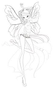 winx official dreamix coloring pages winx club