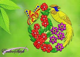 design embroidery a geishas garden embroidery design designs nofancyname co