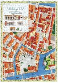 Map Of Venice Old Jewish Ghetto Of Venezia Map Venezia Ghetto Nuovo U2022 Mappery