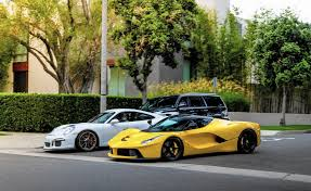 ferrari laferrari crash qatari sheikh at center of beverly hills speeding case flees the