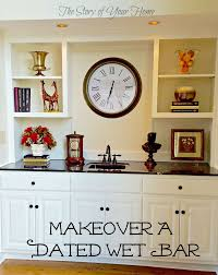 Wet Bar Makeover Best 25 Wet Bar Cabinets Ideas On Pinterest Living Room Bar