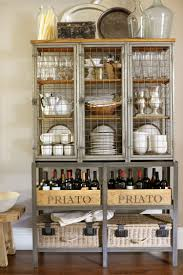 wine beverage center use chicken wire for cabinet doors for a