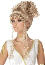 halloween costumes blonde wig athenian goddess wig blonde historical wigs at escapade uk