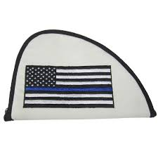 Thin Blue Line Flag Thin Blue Line Flag Pistol Case Mammoth Peak