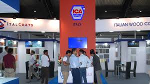 Woodworking Machinery Fair India by Indiawood 2014 Ica
