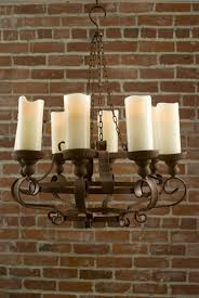 faux pillar candle chandelier lighting light faux pillar candle chandelier outdoor chandeliers for